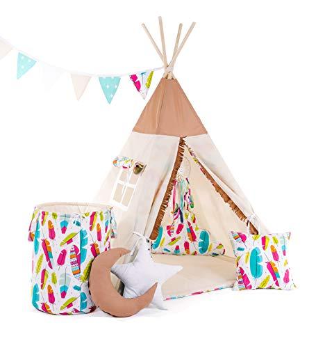 #1 Cristal Tipi-Zelt Pocahontas mit ganz viel Zubehör