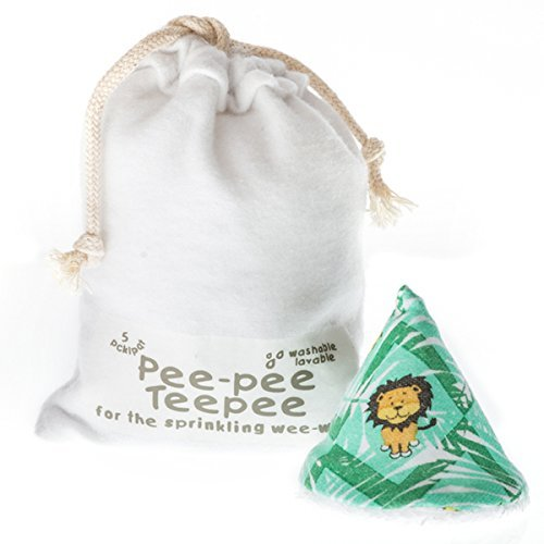 Pee-pee Teepee Jungle Green - Laundry Bag by Beba Bean