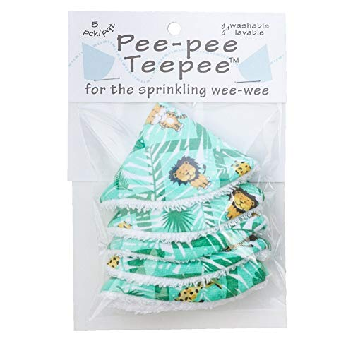 Pee-pee Teepee Jungle Green - Cello Bag by Beba Bean