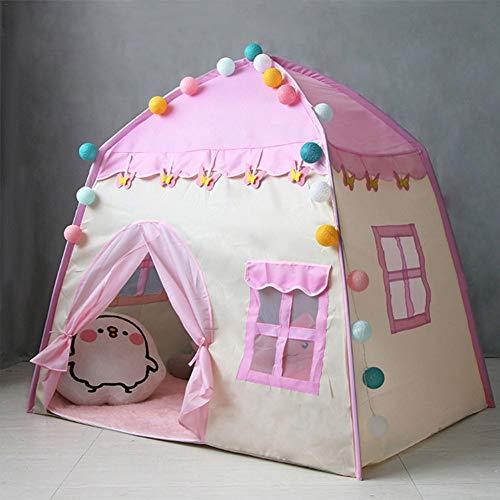#7 Allowevt Kinder Spielzelt Haus mit Bodenmatte