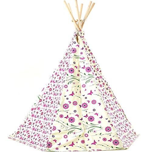 #6 Schönes, buntes Teepee Zelt von Garden Games