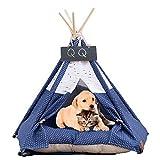 Arkmiido Haustierzelt für Hund & Katze Bett mit Kissen Hund Zelte Haustie Hundezimmer
