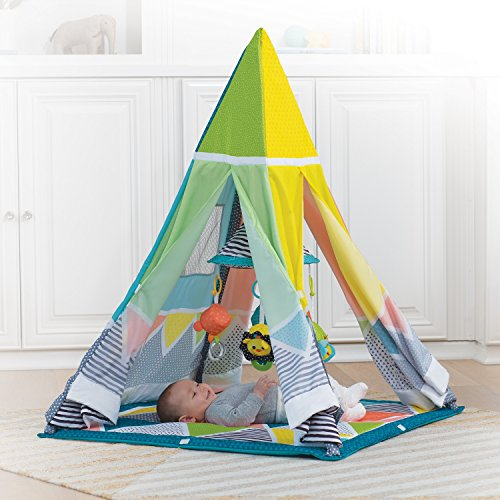 #2 Infantino Baby Tipi-Zelt mit viel Zubehör