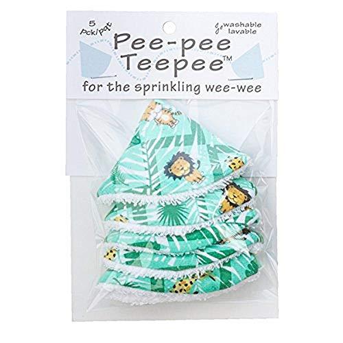 Pee-pee Teepee Jungle Green - Cello Bag by Beba Bean