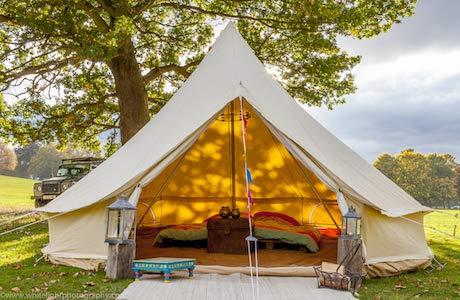 Bell Tent Boutique Glockenzelt mit Ofenloch 5 Meter