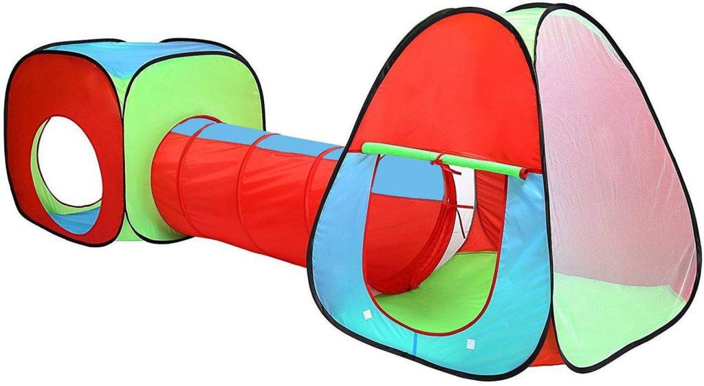 Spielzelt für Kinder mit Tunnel